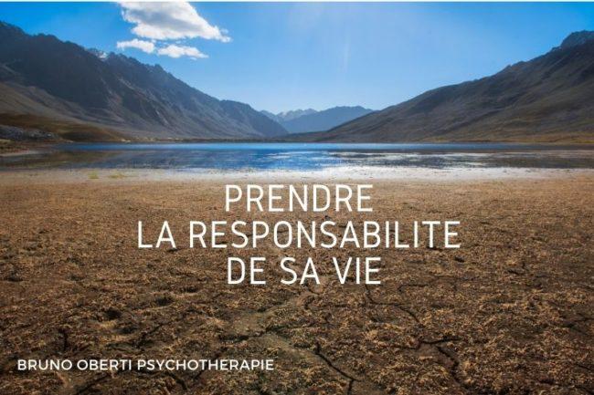 Prendre la responsabilité de sa vie - Bruno Oberti