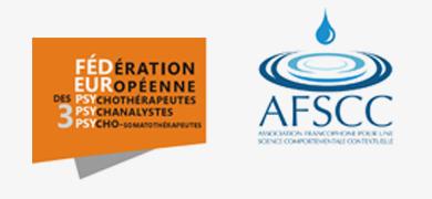 Logos d'affiliation de B.Oberti psychothérapeute à Enghien